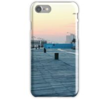 Boardwalk At Sunset iPhone Case/Skin