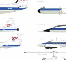 Nasa Graphics Standards Manual 1976 0051 Aircraft markings 2 Sticker