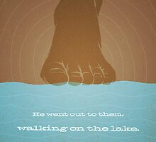 Word: Mark (Walk on Water) by Jim LePage