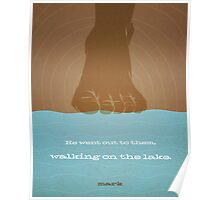 Word: Mark (Walk on Water) Poster