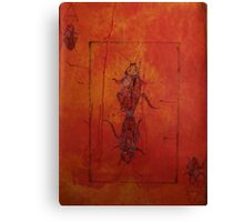 Cockroach Playing Card- Take The Gamble Canvas Print