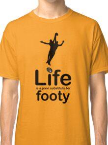 AFL v Life - Black Graphic Classic T-Shirt