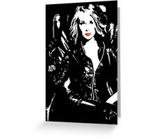 Dominate Madam Greeting Card