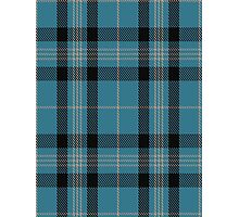 00431 Angle Blue Tartan  Photographic Print