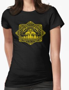 Imminent Destruction Womens Fitted T-Shirt