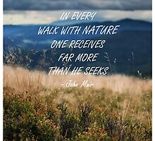 Walk with nature 2 by artesonraju