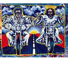 'Elvis & Jesus Hit the Road' Photographic Print
