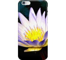 Purple Tipped Water Lily iPhone Case/Skin