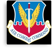 Air Combat Command - USAF Canvas Print