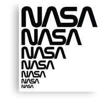 NASA Logotype from the Graphics Standards Manual Canvas Print
