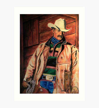 Workin' Man Of The West Art Print