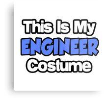 This Is My Engineer Costume Metal Print