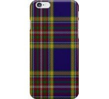 00432 Anthony Plaid Blue Tartan  iPhone Case/Skin