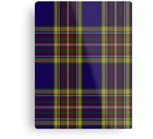 00432 Anthony Plaid Blue Tartan  Metal Print