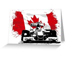 Montreal Raceway - Formula One Greeting Card