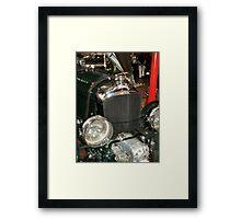 Bentley radiator and supercharger Framed Print