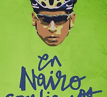 En Nairo Confiamos / In Nairo We Trust (Spanish) : Illustration on Movistar Green by finnllow
