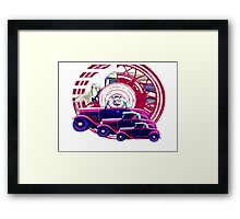 A - V8 Roadster Framed Print