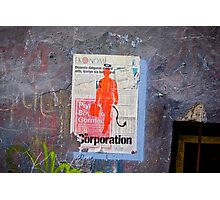 the Corporation Photographic Print