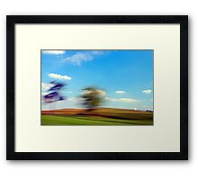 Summer Passing By Framed Print
