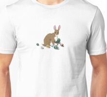 Easter Bunny With Eggs Unisex T-Shirt