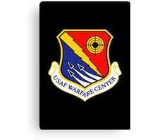 United States Air Force Warfare Center Canvas Print
