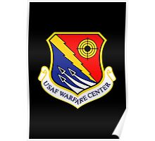 United States Air Force Warfare Center Poster
