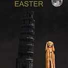 Pisa The Scream World Tour Happy Easter by Eric Kempson