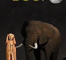 The Scream World Tour African Elephant Boo! by Eric Kempson