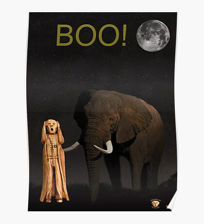 The Scream World Tour African Elephant Boo! Poster