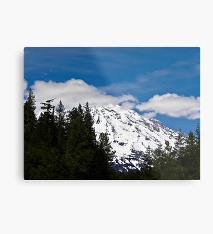 Mt. Rainier - Washington state Metal Print