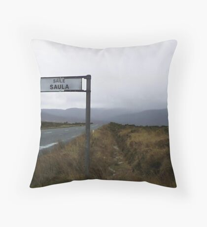 Achill Island Throw Pillow