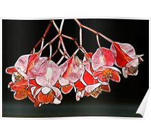 Fractalius Angel Wing Flowers Poster