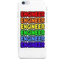 Rainbow Engineer iPhone Case/Skin