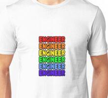 Rainbow Engineer Unisex T-Shirt