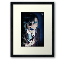 Mad Scientist - Cory Croker Framed Print