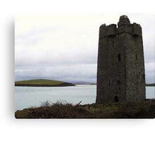 Granuaile's Castle, Achill Island Canvas Print