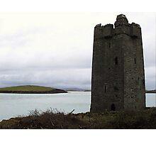 Granuaile's Castle, Achill Island Photographic Print