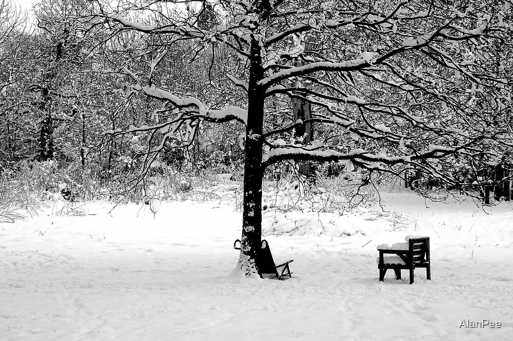 Empty chair by AlanPee