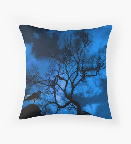 Moonbird Throw Pillow
