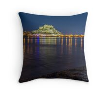 Jersey - Mont Orgeuil Castle Throw Pillow