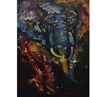 Elephant Nebula Photographic Print