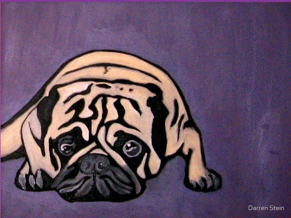 Purple Pug by Darren Stein