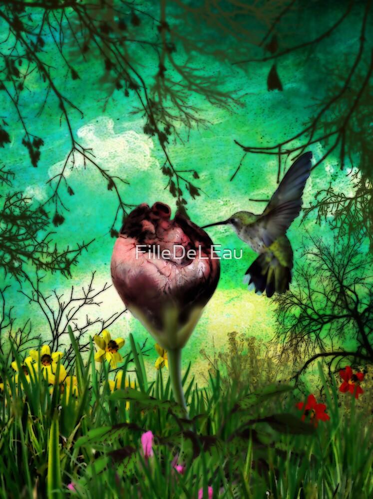 My strange garden's flower by FilleDeLEau