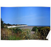 Low Tide, Pegwell Bay Poster