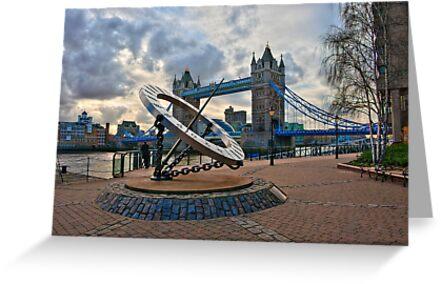 Tower Bridge: London, UK. by DonDavisUK