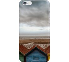 Colorful on the beach iPhone Case/Skin