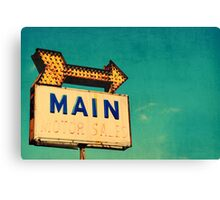 The Main Thing Canvas Print