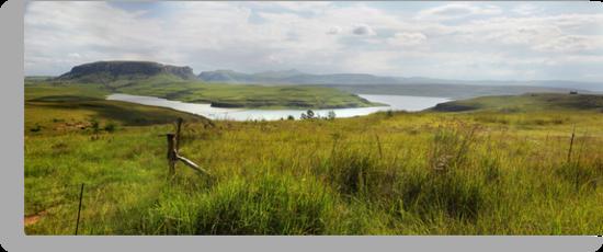 Sterkfontein Dam, South Africa by Sharon Bishop
