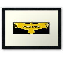 Vamos Nairo Quintana : TDF Yellow Logo Framed Print